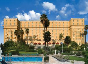 The King David hotel in Jerusalem where Bono and his family stayed.