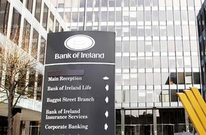 The Bank of Ireland headquarters in central Dublin