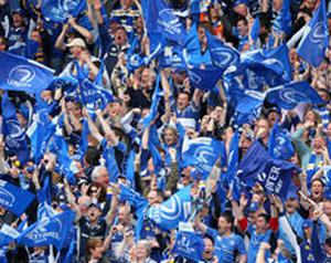 Leinster fans getting ready for the final against Ulster. Photo: Getty Images