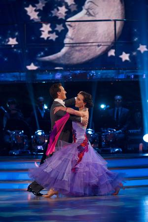 Handout photo issued by the BBC of Brendan Cole and Victoria Pendleton during the Strictly Come Dancing live show. PRESS ASSOCIATION Photo. Issue date: Saturday October 13, 2012. See PA story SHOWBIZ Strictly. Photo credit should read: Des Willie/BBC/PA Wire NOTE TO EDITORS: This handout photo may only be used in for editorial reporting purposes for the contemporaneous illustration of events, things or the people in the image or facts mentioned in the caption. Reuse of the picture may require further permission from the copyright holder.