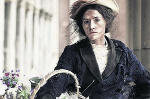 A LADY AT HEART: Charlie Murphy plays Eliza Doolittle in 'Pygmalion' at the Abbey in Dublin