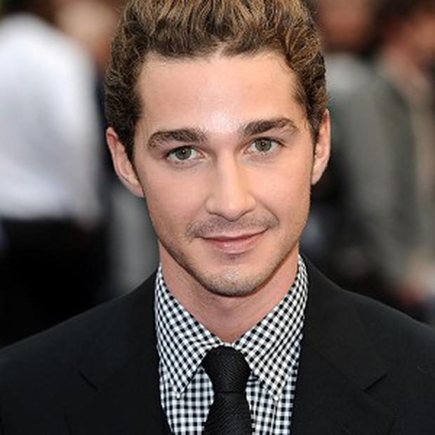 Shia LaBeouf has been spotted drinking in a London pub