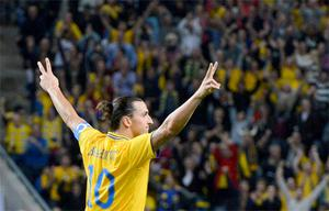Ibrahimovic: It was his fourth goal that will linger long in the memory, that will be saluted around the world.