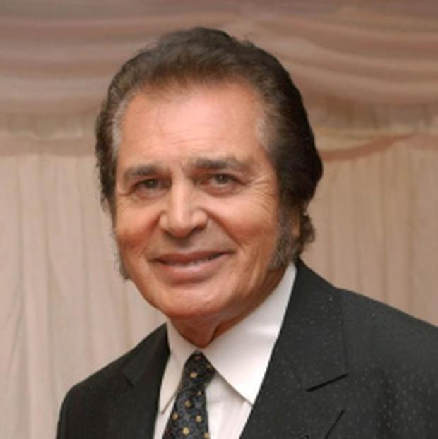 File photo dated 27/05/2004 of veteran crooner Engelbert Humperdink in London. He has been chosen as the UK entry for the Eurovision Song Contest. PRESS ASSOCIATION Photo. Issue date: Friday March 2, 2012. See PA story SHOWBIZ Eurovision. Humperdinck last had a top ten hit 42 years ago. Photo credit should read: Andy Butterton/PA Wire