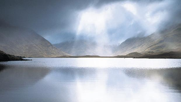 Glencullin Lough, also in south Mayo