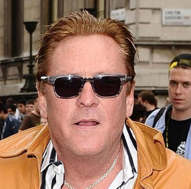 Michael Madsen at the start of the Gumball 3000 Rally