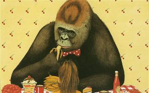 Gorilla by Anthony Browne (Walker). A beautifully drawn story from the former children's laureate about a lonely girl who finds company in a gorilla.