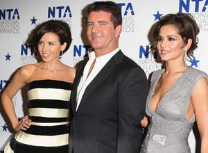Dannii Minogue, Simon Cowell and Cheryl Cole. Photo: Getty Images