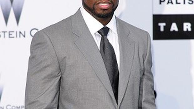 50 Cent has fallen out with his record company