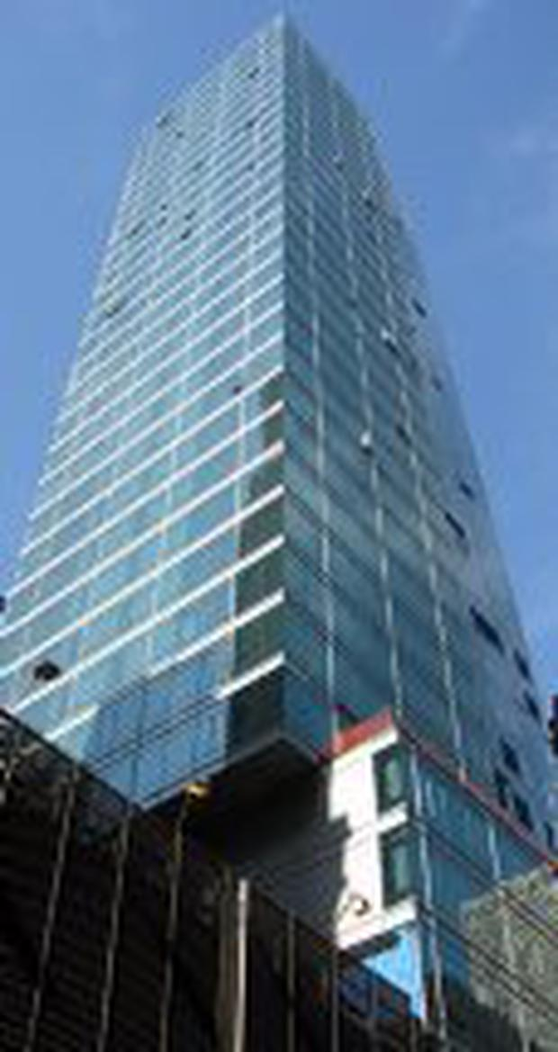 THE CENTRIA: Keane Mahony Smith have taken a block of apartments for Irish buyers in this Manhattan high-rise