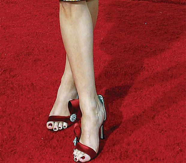 Actress Reese Withspoon's second toe peeks out over her shoes at this year's Golden Globes award ceremony. Perhaps she could be a candidate for cosmetic feet surgery?