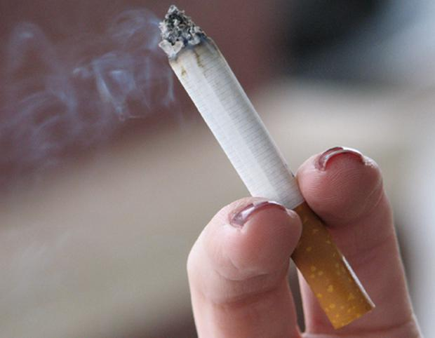 Health danger: But smoking ban has curbed the damage