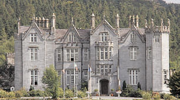 A ghost called Hugh is said to haunt Kinnitty Castle
