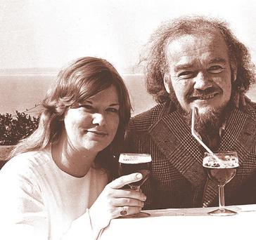 Christy Brown and his wife Mary Carr: new book claims she was a prostitute
