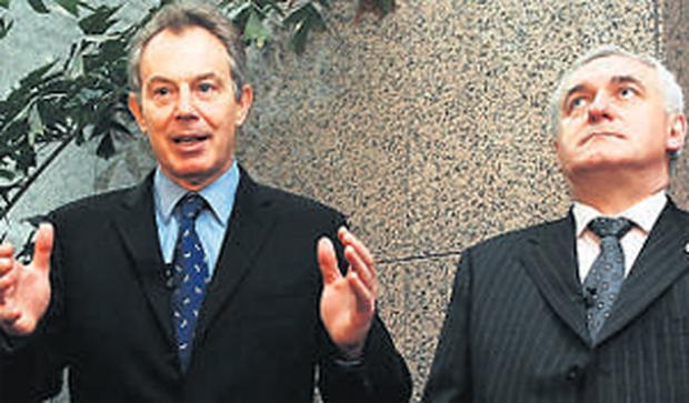 Tony Blair is more likely than Bertie Ahern to end up as the first President of the European Union