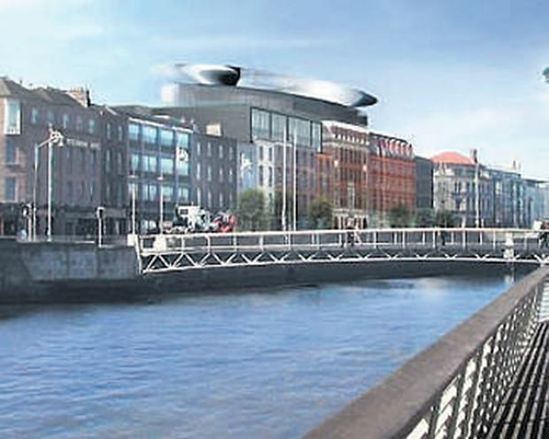 An artist's impression of what the new Clarence Hotel will look like once the planned €150m revamp has been completed