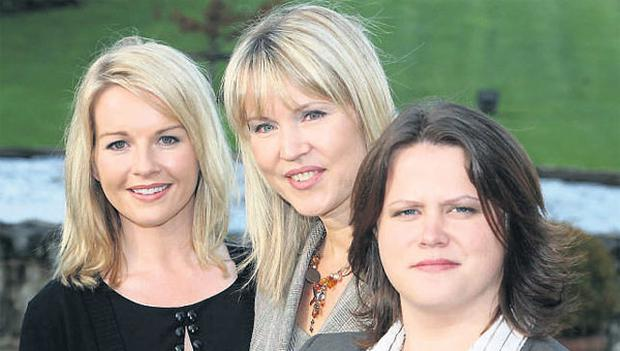 At the event held by the County and City Enterprise Boards yesterday in the Mullingar Park Hotel were, from left, Claire Byrne, MC, broadcaster and journalist, Sheelagh Daly, chair of the National Women's Enterprise Day and chief executive of Wicklow County Enterprise Board, with Ruth Badger, keynote note speaker.