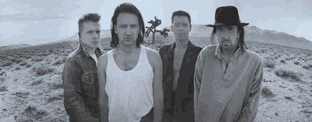 Now and then: U2 in California's Mojave Desert in 1987