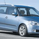 Spacious... the new Fabia estate has loads more headroom