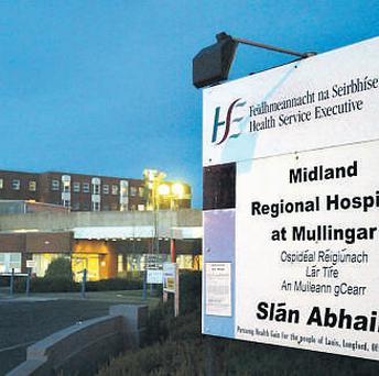 The Midlands Regional Hospital in Mullingar
