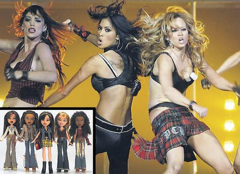 The influence of pop group the Pussycat Dolls and the Bratz range of toys help young girls to grow up too fast
