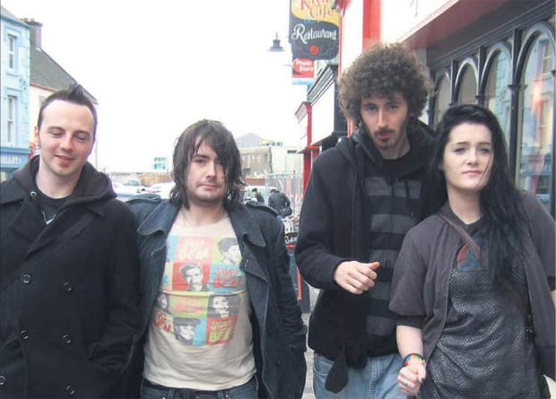 Monkey business: Band of the moment Fight Like Apes on the streets of Dingle