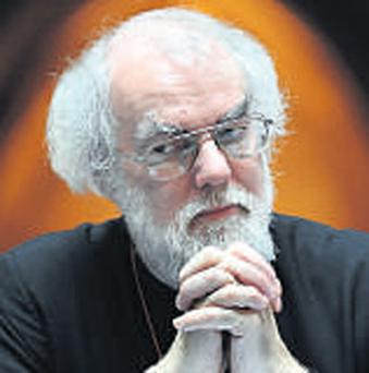 ROWAN WILLIAMS: Upset