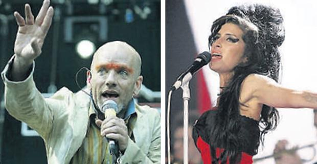 ON SONG: REM and Amy Winehouse