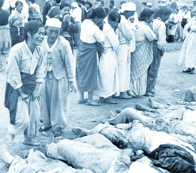 ATROCITY: Thousands died from starvation, disease or during the agonising death marches during the Korean War