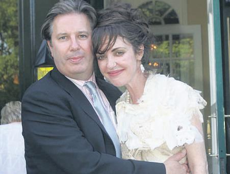 Going their separate ways: Gerry Ryan and his wife Morah at his 50th birthday celebrations in 2006