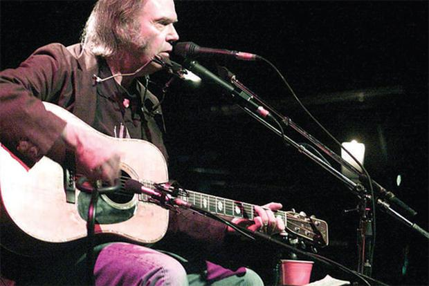 Blasts from the past: Neil Young