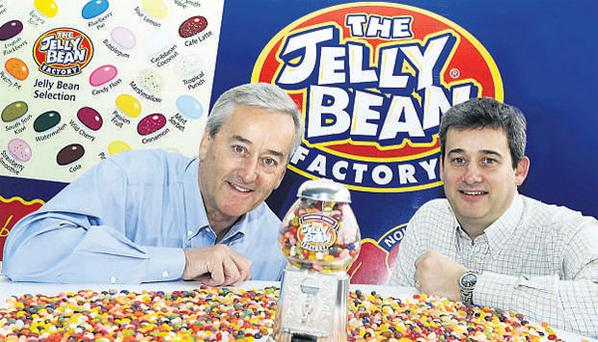 The Jelly Bean Factory was the overall winner of the Small Firms Association National Small Business Awards 2008 earlier this month. Peter and Richard Cullen are the principals at Aran Candy, branded globally as The Jelly Bean Factory