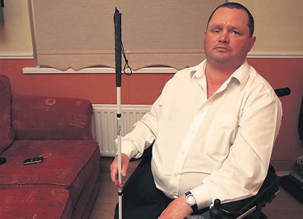 Neill King suffered discrimination while attempting to board a Dublin bus