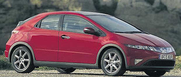 The Honda Civic hybrid, regarded as one of the lowest emitting cars, performed the worst in tests