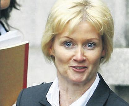 Sharon Collins (above) denies hiring Mr Eid to kill Mr Howard and his two sons