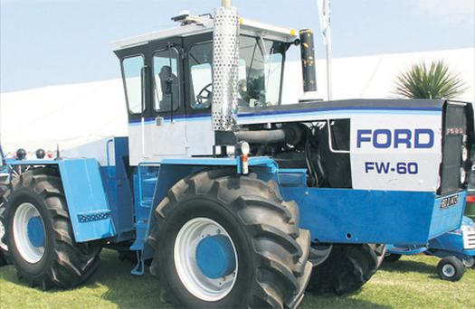 This Ford FW-60 was the most imposing classic tractor at the show. This articulated giant is the prized possession of Stephen Hogan, from Co Dublin. Tipping the scales at a very portly 14t, this ageing monster has more than 330hp at its disposal! The FW-60 was manufactured by Steiger (for Ford) in North Dakota between 1977 and 1982