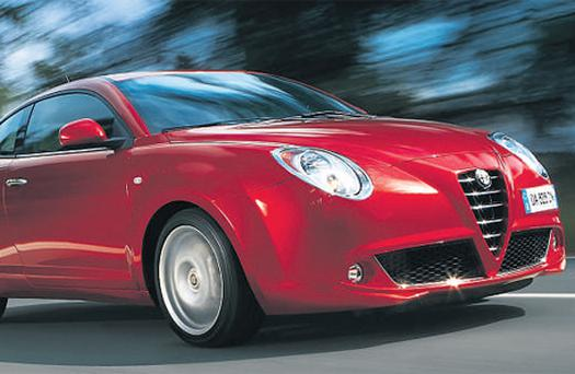 PRETTY: The new MiTo is pleasing on the eye and is able to boast several attractive features, but it doesn't quite hit the dizzying heights it aspires to and ultimately leaves the driver feeling a little unfulfilled