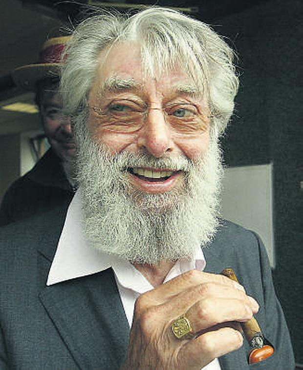 Heart of a lion: Singer Ronnie Drew passed away in St Vincent's Hospital in Dublin yesterday