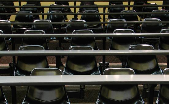 Library image of a lecture theatre