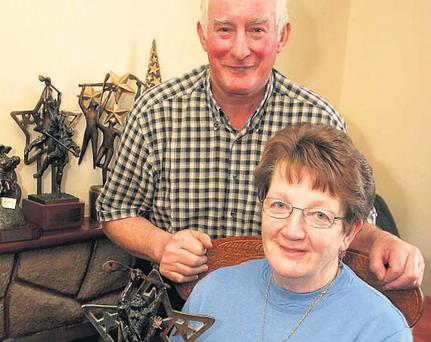 Seán and Josephine Canning: 'To win the senior championship was great for the likes of me,' says Seán, 'I never won nothing.'