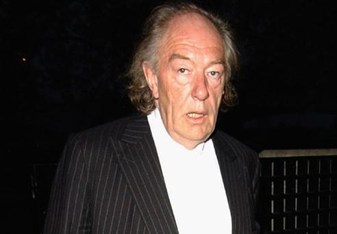 Actor Michael Gambon