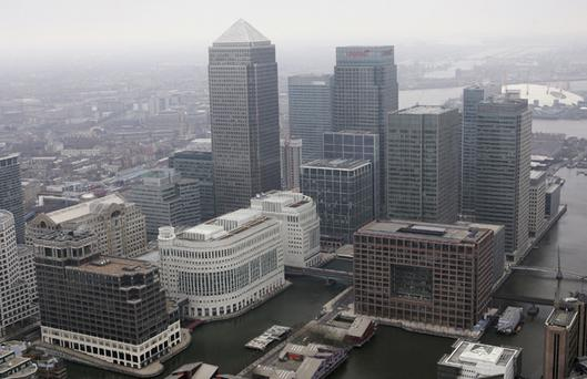 Canary Wharf (Photo by Mike Hewitt/Getty Images)