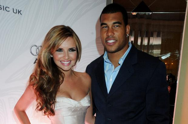 Nadine Coyle and boyfriend Jason Bell