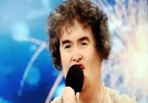 Scottish charity worker Susan Boyle Photo: Getty Images