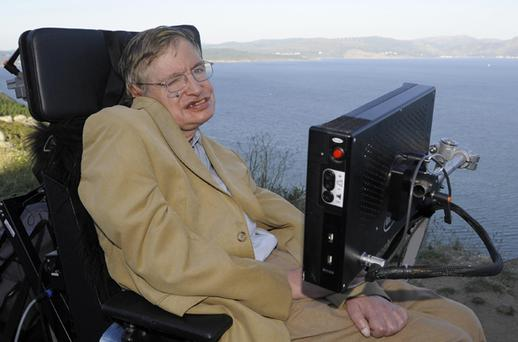 Professor Stephen Hawking Photo: Getty Images