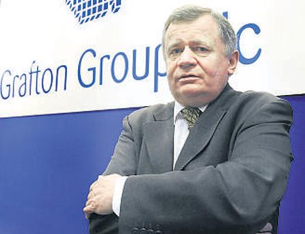 Michael Chadwick, executive chairman, addressed the Grafton Group AGM in Dublin yesterday.