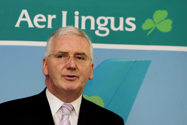 Dermot Mannion, former deputy chairman of Royal Brunei Airlines and former Aer Lingus CEO