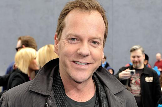 Actor Kiefer Sutherland Photo: Getty Images