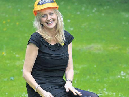 'Late Late' favourite Miriam O'Callaghan at the Niall Mellon Township Trust event.
