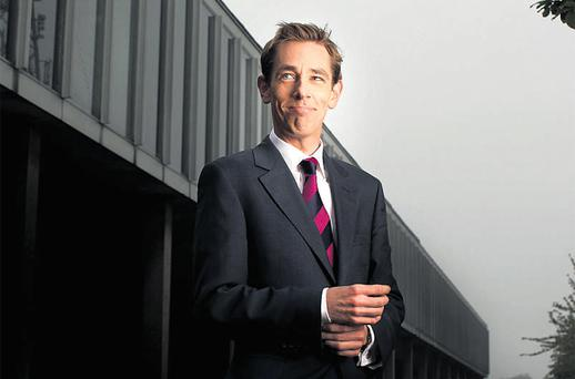 AND HERE IS YOUR HOST: Ryan Tubridy, the new man at the helm of 'the Late Late Show', admits that he and former Rose of Tralee winner Aoibhinn Ni Shuilleabhain are dating and hopes that they be allowed to do so with dignity - without people hiding up trees to take photos